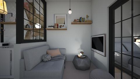 Casa311LivingArea - Feminine - Living room - by nickynunes