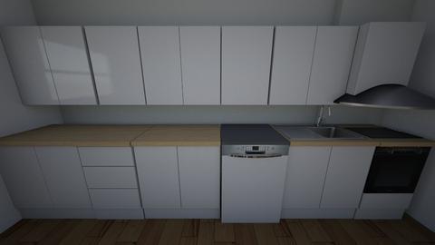 kuchnia 1 - Kitchen - by siwamuszka
