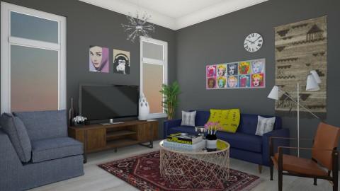 U - Feminine - Living room - by Karim Mahfouz