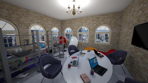 Open Plan Office - Office - by Silver9