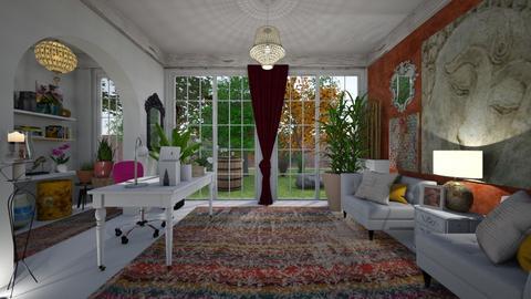 Bohemian Office - by Themis Aline Calcavecchia