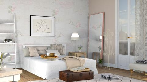 Bedroom 1 - Vintage - Bedroom - by Sally Simpson