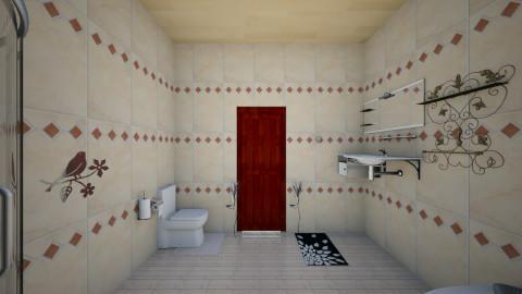 The Vintage Bathroom - Vintage - Bathroom - by GABRIELLE HEMME