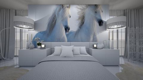 caballo - Bedroom - by ana111
