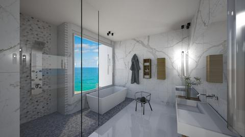 Great views - Bathroom - by flacazarataca_1