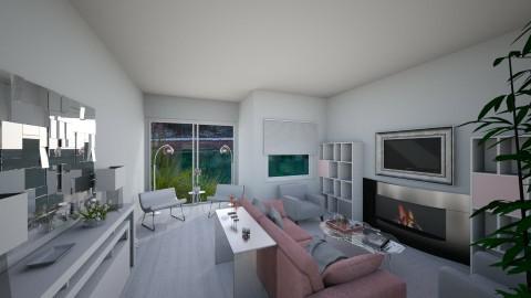 Modern living room - Modern - Living room - by AnaAlex