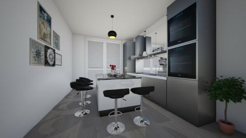 Kitchen Dining  - Modern - Kitchen - by mfurze