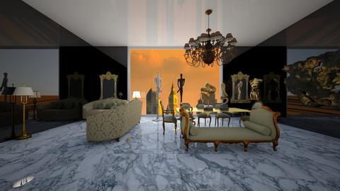 dubai - Living room - by tbeals