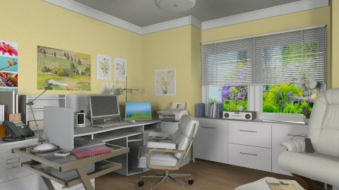 Office for Martha - Modern - Office - by Bibiche