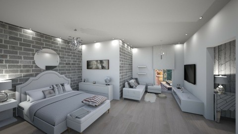 Attic apartment - by chloelm92