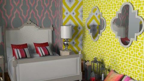 Moroccan Bedroom - Bedroom - by FranklyDear
