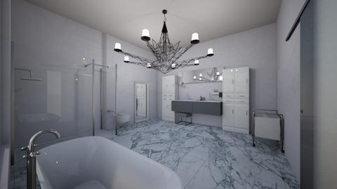 Functional Glam Bath - Bathroom - by Anea Designs