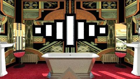 Deco Bathroom - Vintage - Bathroom - by unglued