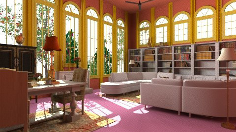 Library - Vintage - Kids room - by Romanshotel