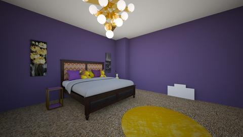 Kalishas MasterBed - Glamour - Bedroom - by lulu2x