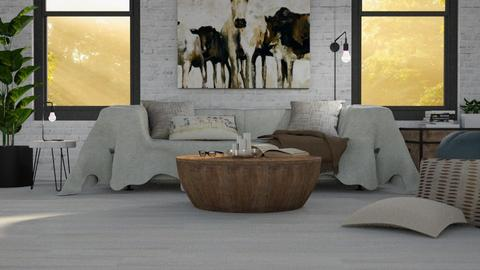 MADSEN nordic template - Living room - by miadesign