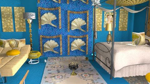 blue - Eclectic - Bedroom - by asifgoldpk