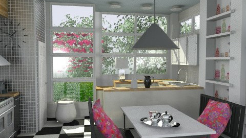 Lulu - Eclectic - Kitchen - by du321