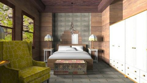 Cabana quarto da vic - Country - Bedroom - by wagner herbst padilha