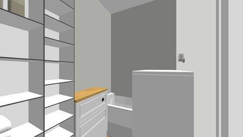 bathroom - by joannaptach