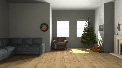 christmas - Living room - by bethris
