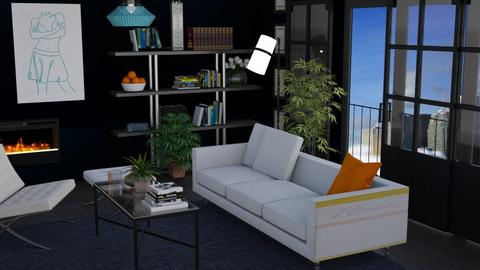 Dark and light  - Modern - Living room - by augustmoon