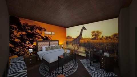 UH Africa do Sul - Bedroom - by liandrade