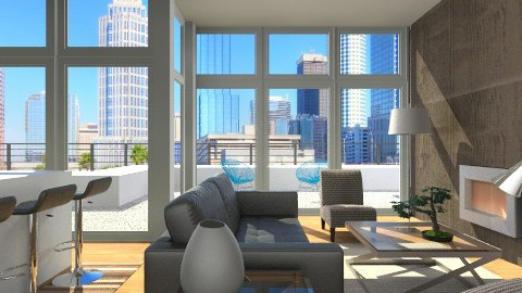 Urban Falabella - Living room - by channing4
