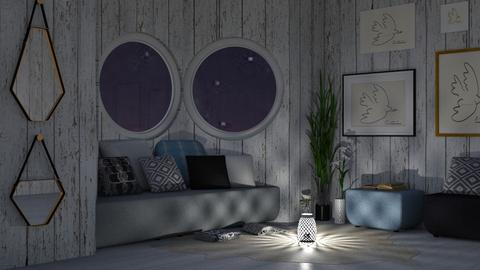 Peace - Eclectic - Living room - by millerfam