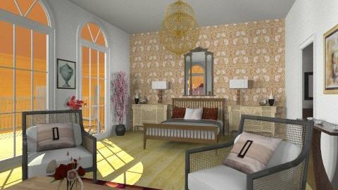 Chocolate - Glamour - Bedroom - by giulygi