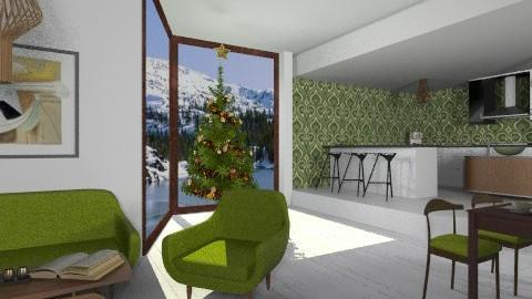 Moss - Retro - Kitchen - by amandafern