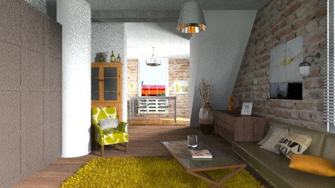 Cozy Industrial - Eclectic - by BerBer