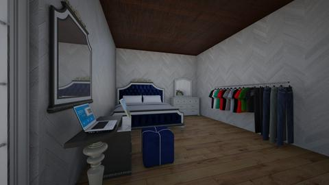 Master bedroom - Modern - Bedroom - by symia123