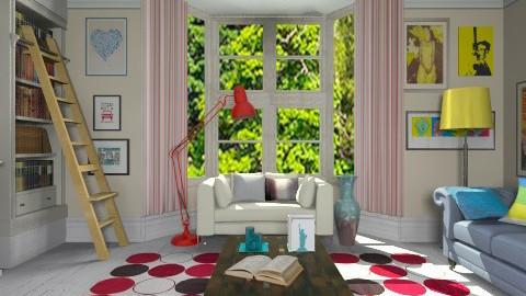 Retro mood - Retro - Living room - by Laurika