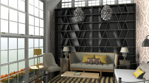 Saffron Attic - Vintage - Living room - by toadfool