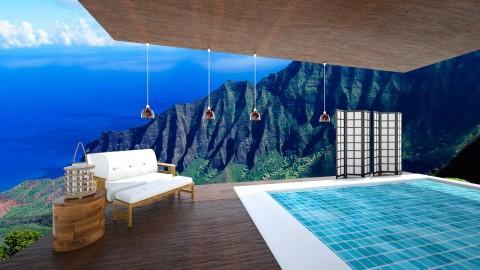 Hawaiian resort - Garden - by Cora_da_B0ss