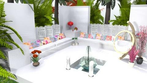 Garden Area - Retro - Garden - by cara_98