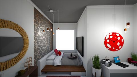 Dorm Bedroom - Modern - Bedroom - by FabulousGirl35