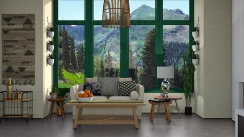 Template Baywindow Room - Living room - by ClaraBart