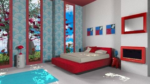Two sides - Minimal - Bedroom - by mrschicken