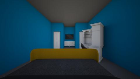 school project - Bedroom - by MalachiTribble