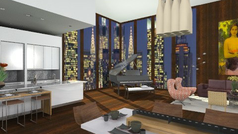 PaulGauguin1 - Eclectic - Living room - by AlSudairy S