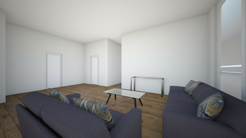 Wide apartment - Living room - by cfort3