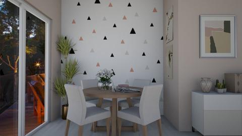 Dinning Room - Feminine - Dining room - by lealaurenbagari
