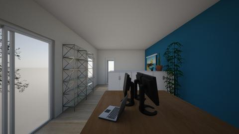 Garden Office - Minimal - by Elise DR