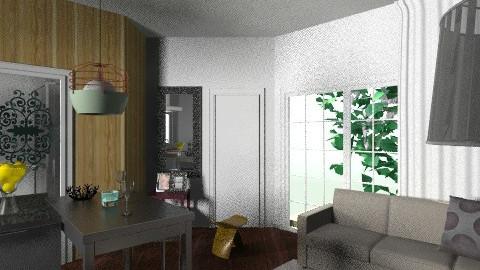 cocina de ORIGAMI  - Glamour - Kitchen - by domuseinterior