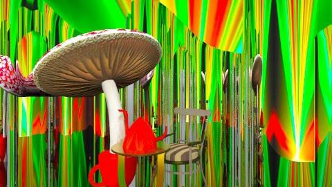 magic potions - Minimal - Garden - by loretasofia