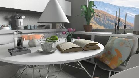 Kitchen - Modern - Kitchen - by Weiting Chien