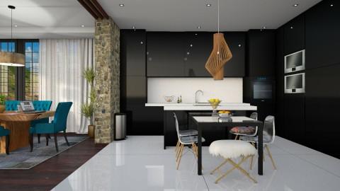 For 5 - Modern - Kitchen - by DeborahArmelin