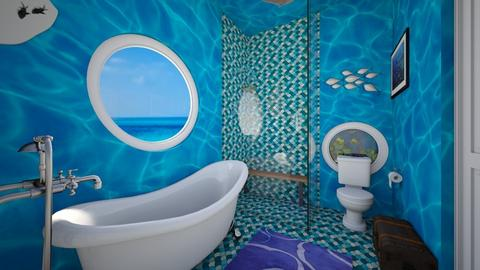 Undersea Theme Bathroom 1 - Bathroom - by SammyJPili